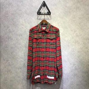 OFFWHITE BUTTON UP SHIRT